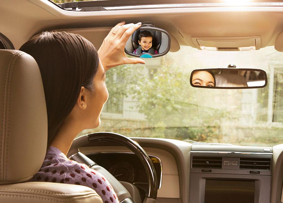 2-In-1 Auto Mirror