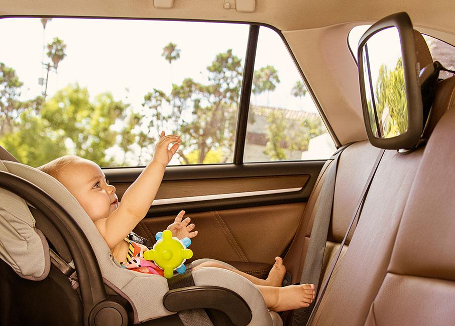360 Pivot Baby Auto Mirror