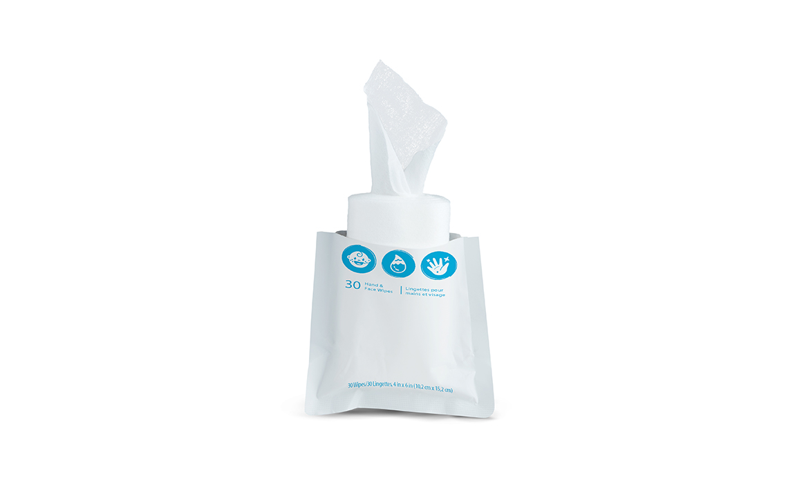 carousel image Travel Wipes Refill 3Pack - 2