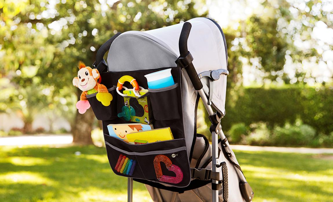 carousel image Backseat and Stroller Organizer - 3