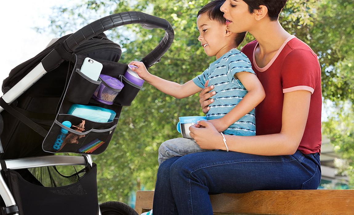 carousel image Backseat and Stroller Organizer - 4