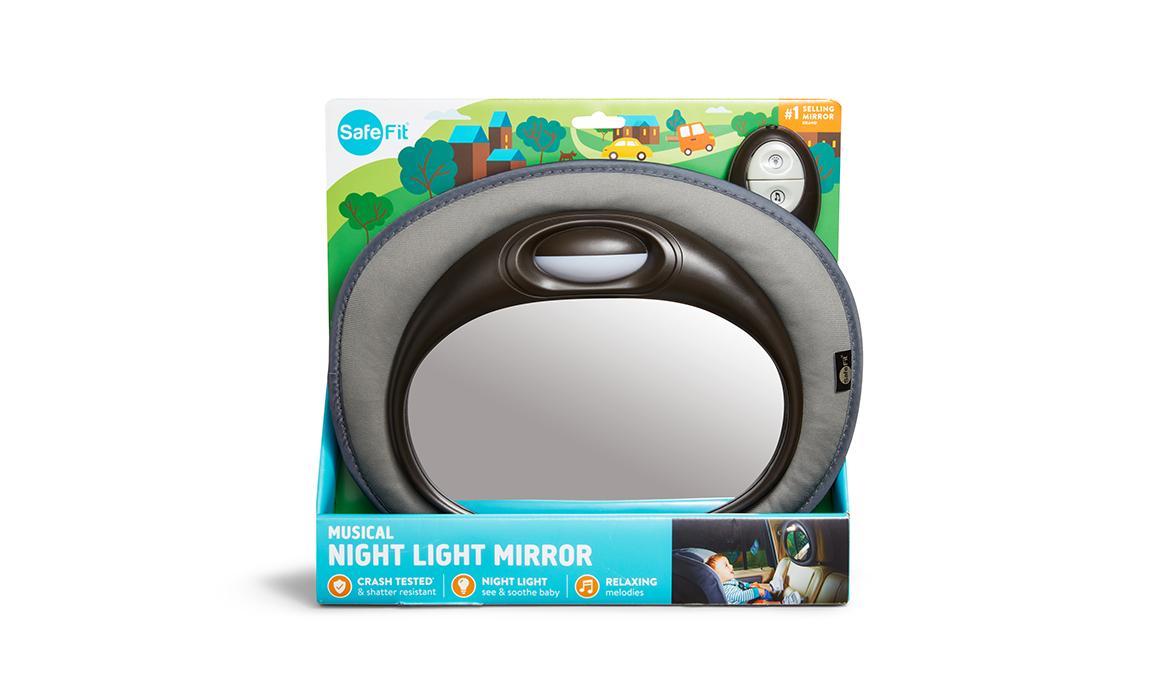carousel image Musical Night Light Mirror - 6