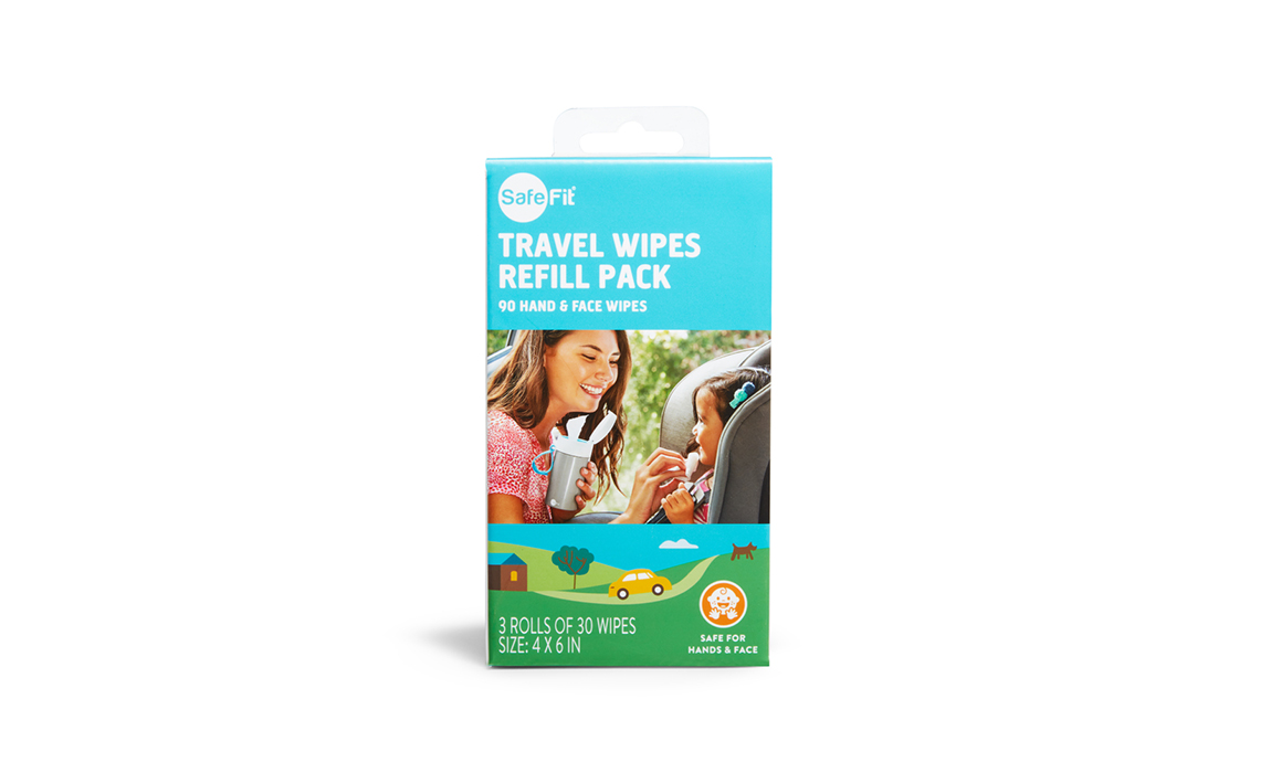 carousel image Travel Wipes Refill 3Pack - 6